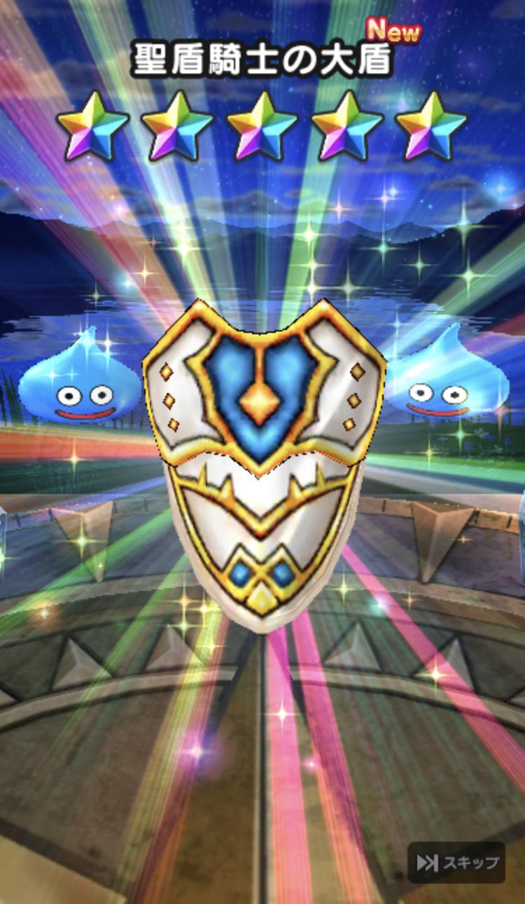 聖盾騎士の盾