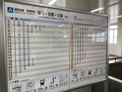 彦根駅時刻表