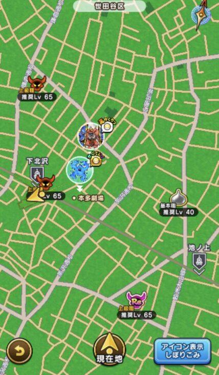 下北沢地図