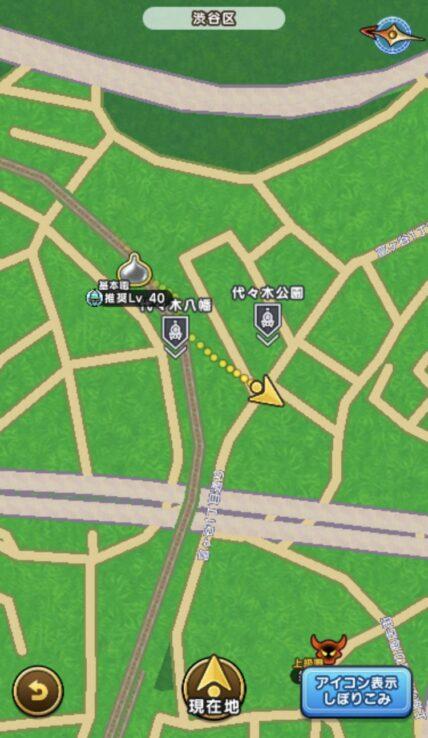 代々木八幡地図